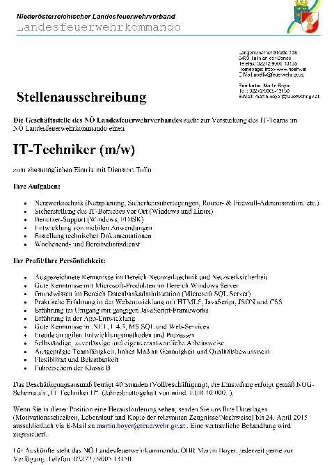 Bezirksfeuerwehrkommando Amstetten